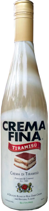 tiramisu bottle